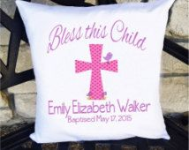 baptism pillow ideas - Google Search
