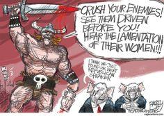 Republican House Speaker, Pat Bagley,Salt Lake Tribune,Republicans,GOP,House,Congress,Speaker of the House,Boehner,McCarthy,Chaos,Republican,Disarray,Issa,Chaffetz