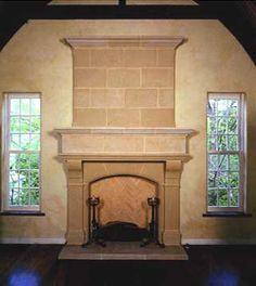 Old World Stoneworks - Cast Stone Fireplace Mantels