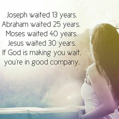 God's best is worth the wait..