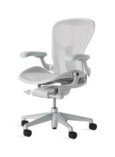 Shop Aeron Task Chair (Recommended by Clippings) by Herman Miller. Streamlines the process of furniture and product procurement, delivery and installation for architects and interior designers Plywood Furniture, Bed Furniture, Furniture Design, Furniture Ideas, Futuristic Interior, Futuristic Furniture, Modern Desk, Modern Chairs, Best Office Chair