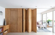 36 Trendy Ideas for wall partition design space dividers bedrooms Apartment Interior, Interior Walls, Home Interior Design, Studio Apartment, Cabinet D Architecture, Interior Architecture, Murs Mobiles, Moving Walls, Movable Walls