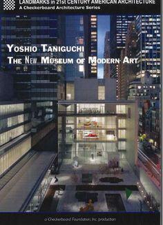 Yoshio Taniguchi The New Museum of modern Art, New York, N.Y. DVD VIDEO 5892