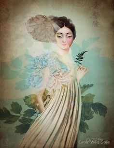 """""""Chinese Flower"""" by Catrin Welz-Stein 