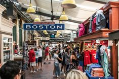 Whether you are looking to soak up some history, catch a ball game, or relax by the water, Boston is the place for you. To get you started with exploring this great city, here are 10 things to see and do in Boston. Boston Shopping, Boston Travel, Santa Claus House, Wall Drug, Architecture Design, Quincy Market, Travel Center, Boston Things To Do, Mall Of America