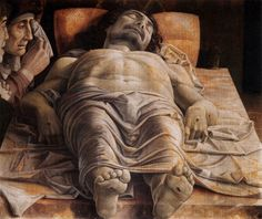 Cave to Canvas, Andrea Mantegna, Lamentation Over the Dead Christ,...