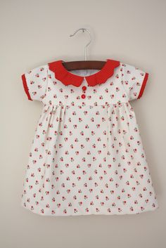 Vintage Heirloom Dress - Free Sewing Tutorial.  Adorable!!