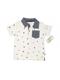 NWT Boy/'s Gymboree Fresh Catch blue short sleeve polo shirt ~ 2T FREE SHIP!!