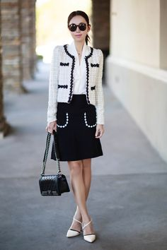 Work Style - love that skirt!