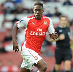 Keen to impress: Danny Welbeck, mocked up here in an Arsenal shirt, is a good buy for the ...