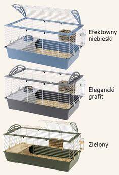 Ferplast Klatka CASITA 120 Gryzoni Królika Świnki (4976949563) - Allegro.pl - Więcej niż aukcje. Decorative Boxes, Decorative Storage Boxes
