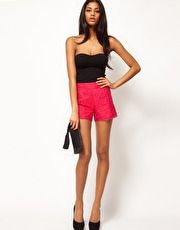 ASOS Lace Short With Scallop Edge