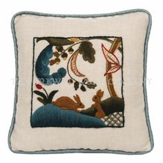 Rabbits! from The Crewel Work Company. http://www.crewelwork.com/shop/products/rabbits.htm#.U-H4fICSzKo