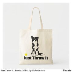 This adorable Border Collie is the perfect image of amused anticipation that every Border Collie owner knows so well. A perfect gift for your favorite Border Collie lover! Collie Dog, Border Collie, Dog Tote Bag, Detail Shop, Budget Fashion, Reusable Tote Bags, Textiles, Perfect Image, Dogs