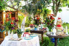 mini wedding - casamento rústico - decoração - wedding decor - casamento ao ar livre - tropical chique.