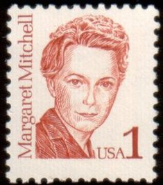 Literary Stamps: Mitchell, Margaret (1909-1949)