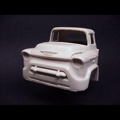 1955 Chevy Cab Forward Truck - Ron Cash Models