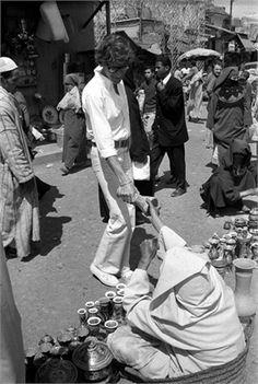 1974 - YSL in Morocco