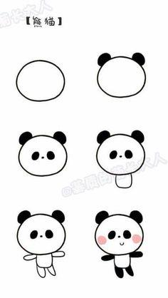Cute Easy Drawings Best 25 Easy Doodles Drawings I… Easy Doodles Drawings, Easy Cartoon Drawings, Cute Easy Drawings, Kawaii Drawings, Animal Drawings, Cartoon Cartoon, Drawing Animals, Cartoon Sketches, Drawing Lessons