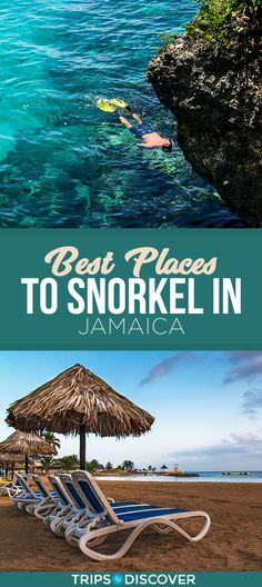 7 Best Places to Snorkel in Jamaica Best Family Vacation Spots, Rome Vacation, Jamaica Vacation, Jamaica Travel, Family Vacation Destinations, Family Travel, Jamaica Honeymoon, Greece Vacation, Family Vacations