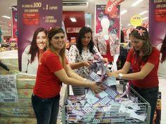 Sorteio compra premiada nas Lojas Esplanada em Recife/PE.