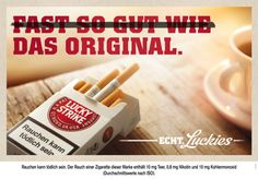 Lucky Strike startet neue Kampagne Guerilla Marketing, Guerrilla, Advertising, Guerrilla Marketing