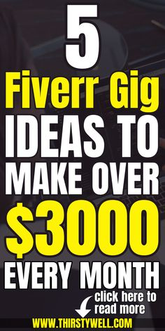 Are you looking to make money from Fiverr then this article is for you as you will learn about 5 … Online Income, Online Earning, Earn Money Online, Excellence Quotes, Survey Companies, Stock Photo Sites, Making Money On Youtube, How To Influence People, First Language