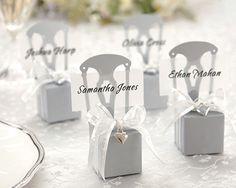 Gaveesker bordkort | Stoltrekk og bordkort til bryllupet. Happy Lights, tilbehør bryllup, selskap, dåp og konfirmasjon, gratis frakt - stort...
