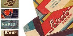Vintage Razor Blade Wrappers - The Dieline -