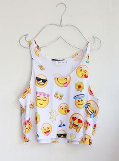Cute Emoji Shirt! From, #shopkollage !