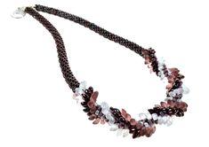 She Likes, Uk Shop, Spiral, Beaded Necklace, Handmade, Beautiful, Jewelry, Design, Fashion