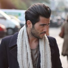 Men's Hair - Relaxed Pompadour/ I always wanted the hair like that