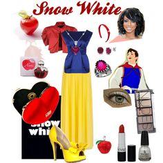 """Snow White"" by samantagangemi on Polyvore"