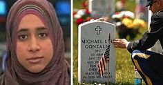 DON'T WANT U.S. SOLDIERS TO BE HONORED ON MEMORIAL DAY... http://toprightnews.com/category/islam/muslima-memorialday