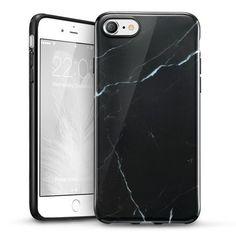 Coque Soft Or/Marbre pour iPhone 7/8