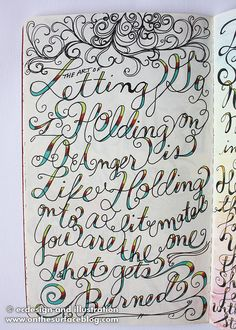Sketchbook Project 2011 - A Day in the Life Page 14 by ecdesignz, via Flickr
