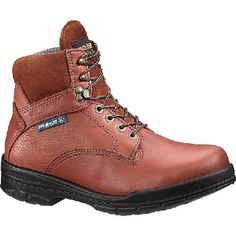 """W03120 Wolverine Men's 6"""" Dri-Lex Safety Boots - Brown"""
