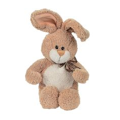 Soft Plush Brown Bunny - OrientalTrading.com