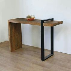 Rustic furniture for your home – Furniture Makeover & Furniture Design Steel Furniture, Living Furniture, Industrial Furniture, Wooden Furniture, Furniture Projects, Furniture Makeover, Furniture Design, Furniture Legs, Barbie Furniture