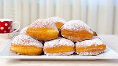 Romanian Desserts, Romanian Food, Romanian Recipes, Beignets, Sweets Recipes, Cooking Recipes, Vegetarian Recipes, Good Food, Yummy Food