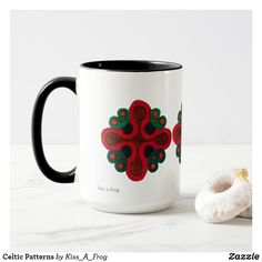 Sip from one of our many Mug coffee mugs, travel mugs and tea cups offered on Zazzle. Coffee Travel, Travel Mug, Celtic Patterns, Cool Mugs, Tea Cups, Coffee Mugs, Tableware, Dinnerware, Coffee Cups