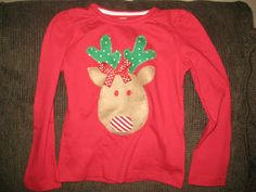 need a reindeer shirt for your girl, look me up!