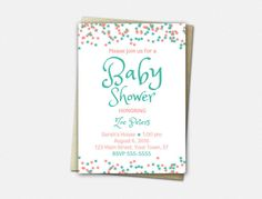 A Star is Born - Baby Shower Invitation by VLHamlinDesign