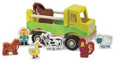 New Classic Toys - Farm Truck with play figures