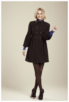 Francis Fall 2012 - Lila Double Breasted Coat