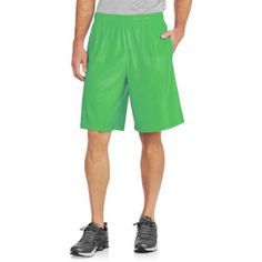 Starter Big Men's Dazzle Short, Size: 2XL, Green