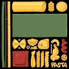 Pasta Mondrian #skepticool #chayground #science #scientist #cute #kawaii #geek #tshirt #pasta #mondrian #art