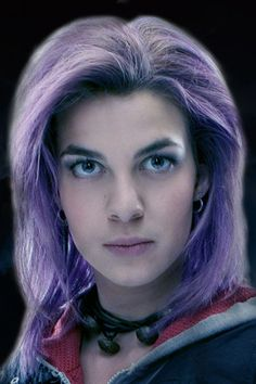 Nymphadora Lupin (née Tonks) (c. 1973 – 2 May, 1998), was a half-blood witch and a Metamorphmagus. After leaving Hogwarts, Tonks joined the Ministry of Magic and trained to become an Auror, qualifying in 1994. In 1995, she joined the Second Order of the Phoenix and was also a member of the Advance Guard. She fought in the Battle of Hogwarts, and was murdered by her aunt Bellatrix Lestrange - Harry Potter Wiki