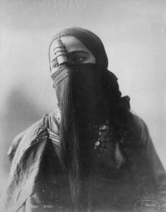 mediterraneum:Arab woman. Egypt, 1880's.