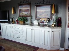built in buffet sideboard | Copyright (c)2009 Wiggins Custom Woodworks & JustHost.com | Desig n by ...